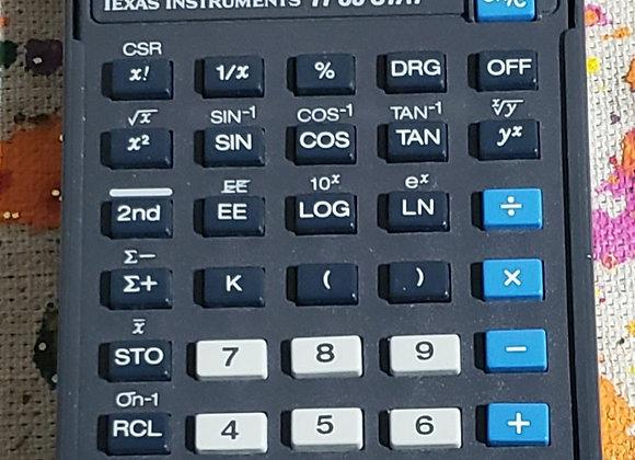 Calculator, TI-30 Stat