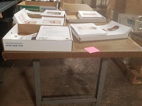 Work Table, Wood Top