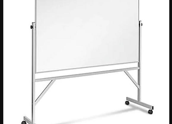 Dry-Erase Whiteboard  on wheels (6' x 4')