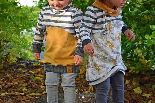 Kombi-eBook Hoodieset Carolinchen little&teen Gr.50-164