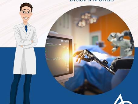 Cirurgia Robótica: Brasil x Mundo