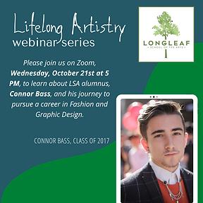 Lifelong Artistry Webinar Series - Conno