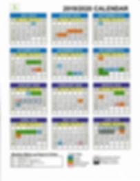 2019-2020 Website Calendar - updated 08.