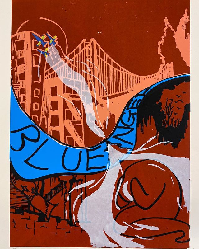 Blue Angel poster, 2019