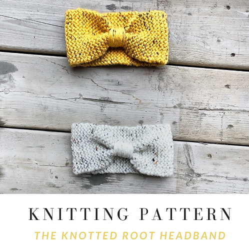 Knotted Root Headband