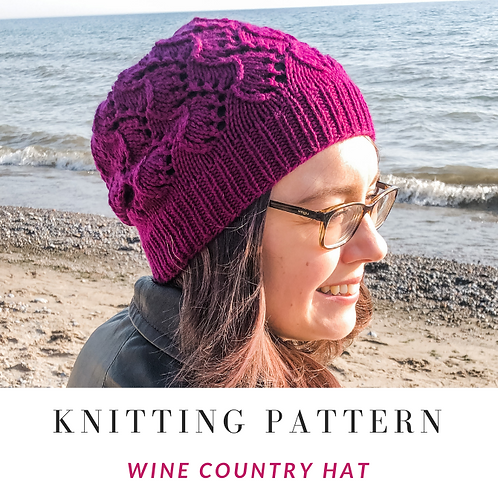 Wine Country Hat [Knitting Pattern)