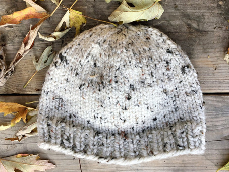Free Pattern: Simple Knit Beanie