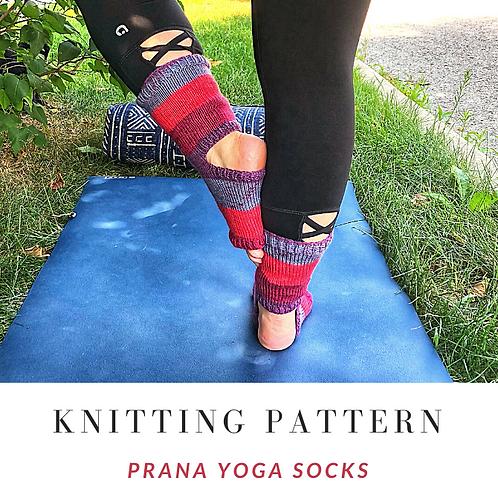 Prana Yoga Socks [Knitting Pattern]