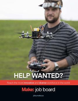 Make: Job Board Print Ad