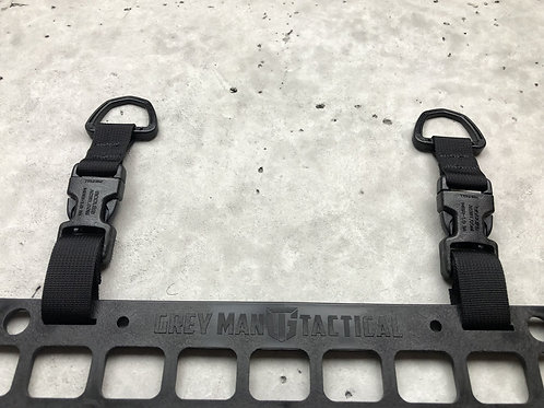 Greyman Buckle D-Ring RMP Straps™ [Headrest Post]