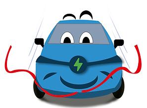 mascotte de l'Avere Occitanie (mobilité électrique)