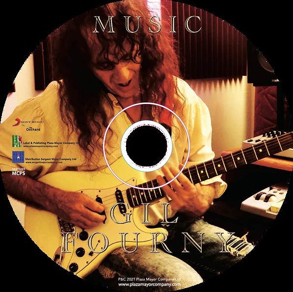 CD Gil FOURNY MUSIC