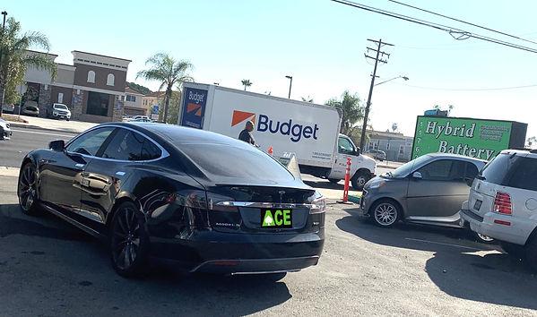 Tesla Model S, serviced by Ace Hybrid Group