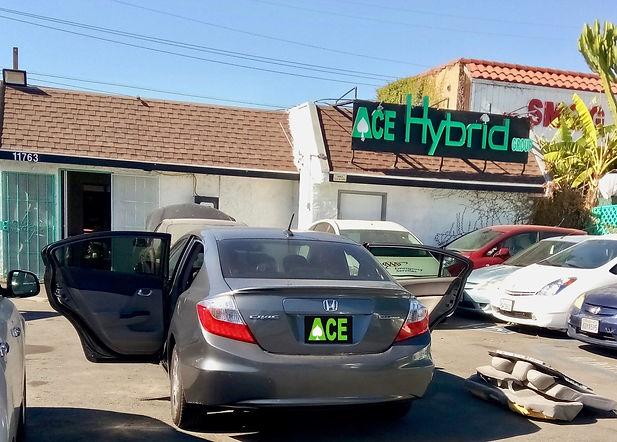 2012, 2013, 2014, 2015 Honda Civic Hybrid, Hybrid Battery Replacement, Ace Hybrid Group