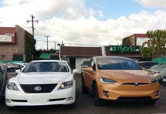 2008, 2009, 2010, 2011, 2012, 2013 Lexus LS 600hL, Hybrid Battery Replacement, Tesla Model X, Ace Hybrid Group