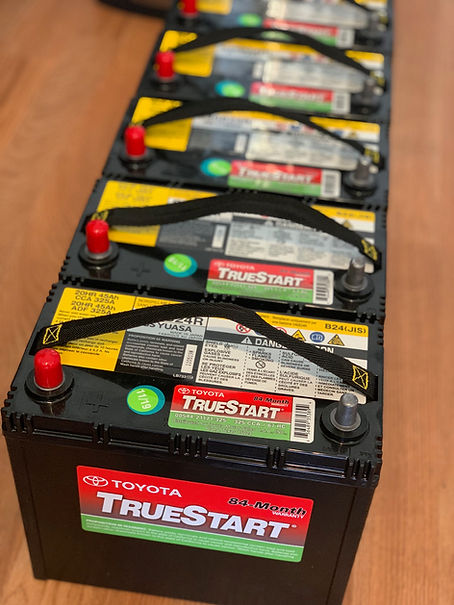 Toyota Prius, 12-Volt Battery, Auxillary Battery