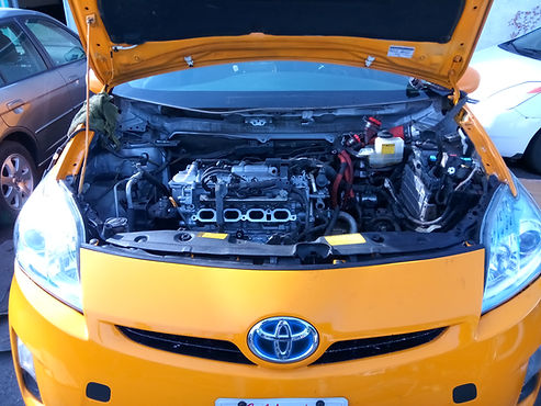 Toyota Prius Engine Replacement, Fully Re-built Engine, Taxi, Ace Hybrid Group