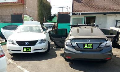 Lexus LS 600hL, Honda Civic, Hybrid Battery Replacement