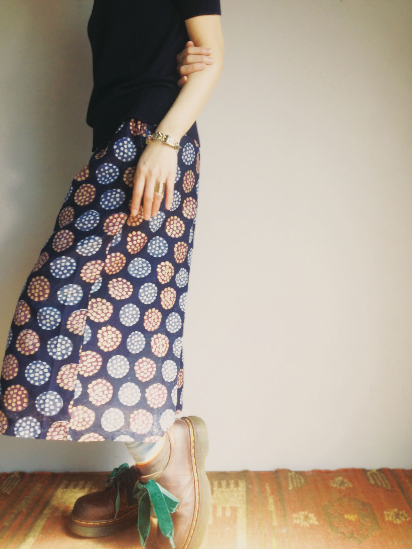 Pants/Lotus navy