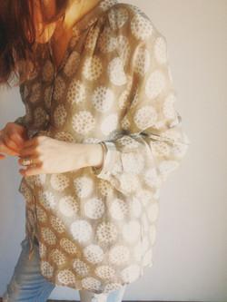 Blouse_Lotus beige