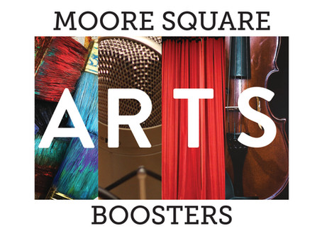 Welcome to the New Moore Square Arts Boosters Website!