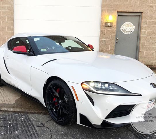 Toyota Supra wanted additional protectio