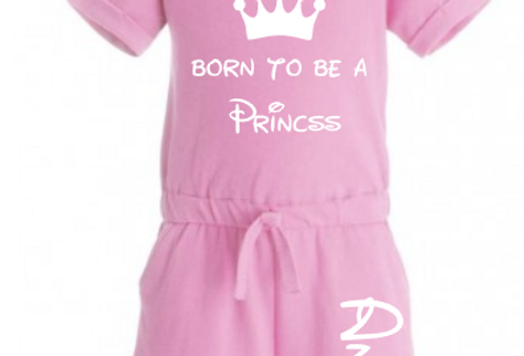 Born to be a princess playsuit