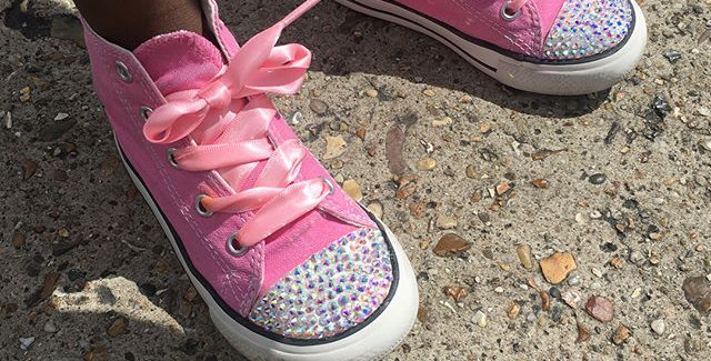 Bling converse (Junior/adult)