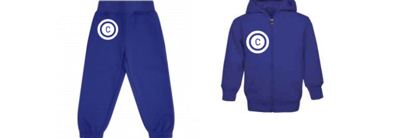 Circle Initial Tracksuit (6yrs-12yrs)
