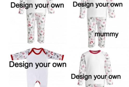 Design your own pjs (mummy)