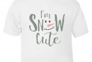 I'm snow cute tee