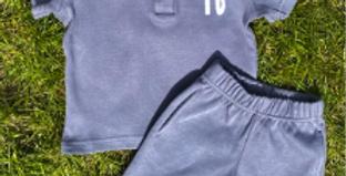 Polo shorts set
