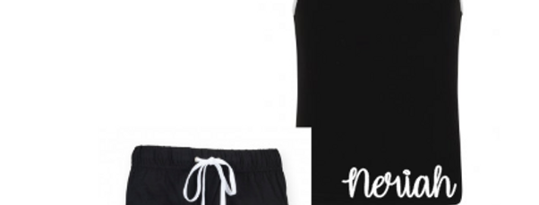 Dance shorts set