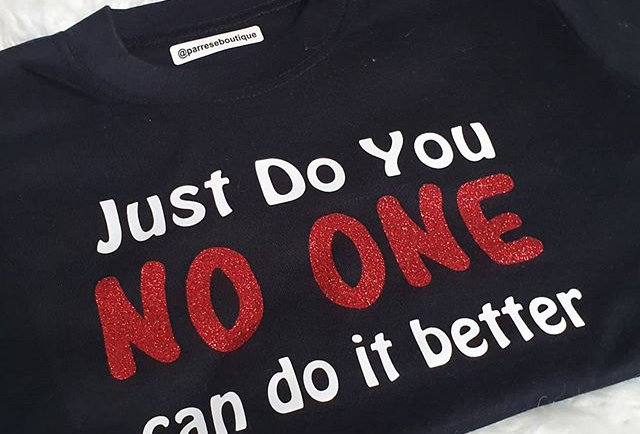 Just do you... No one can do it betterT-shirt