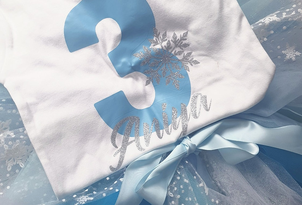 Frozen Birthday T-shirt