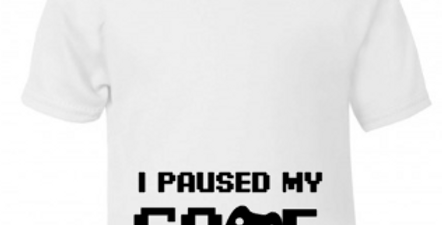 Paused my game Tee