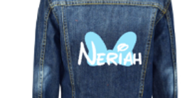 Mini Bow Denim Jacket 3m-13yrs (GIRLS)