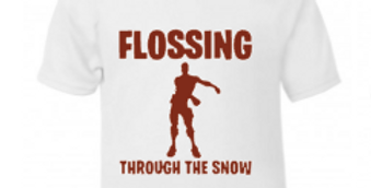 Flossing through the snow