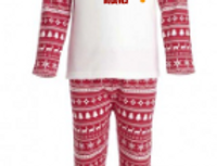 Red I believes matching pjs (child)