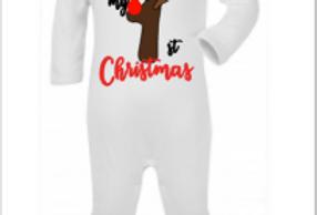 My 1st Christmas babygrow/t-shirt