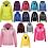 Thumbnail: Personalised hoodie (3-13yrs) (zip hoodie)