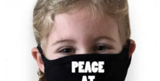 Peace at last face mask