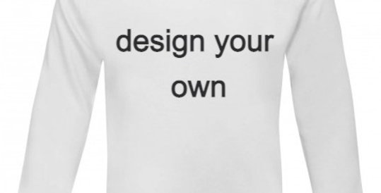 Design your own T-shirt long sleeve