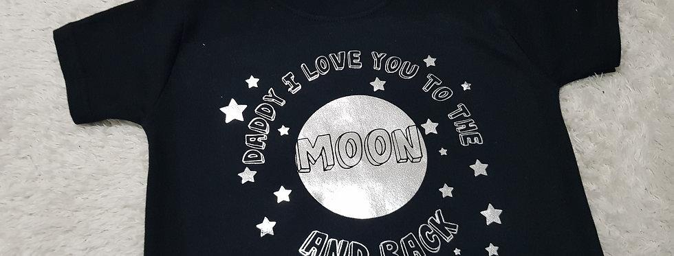 Moon and backT-shirt