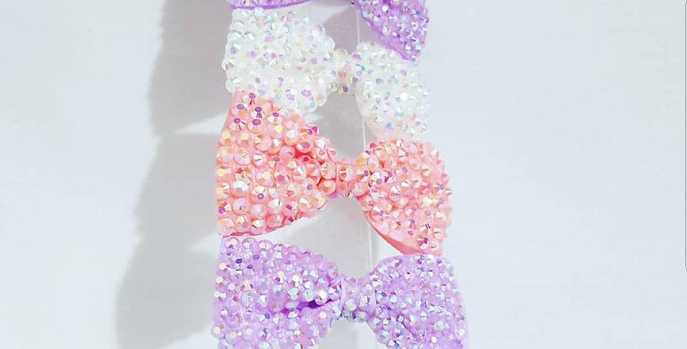 Bling Hair Bow (pair)