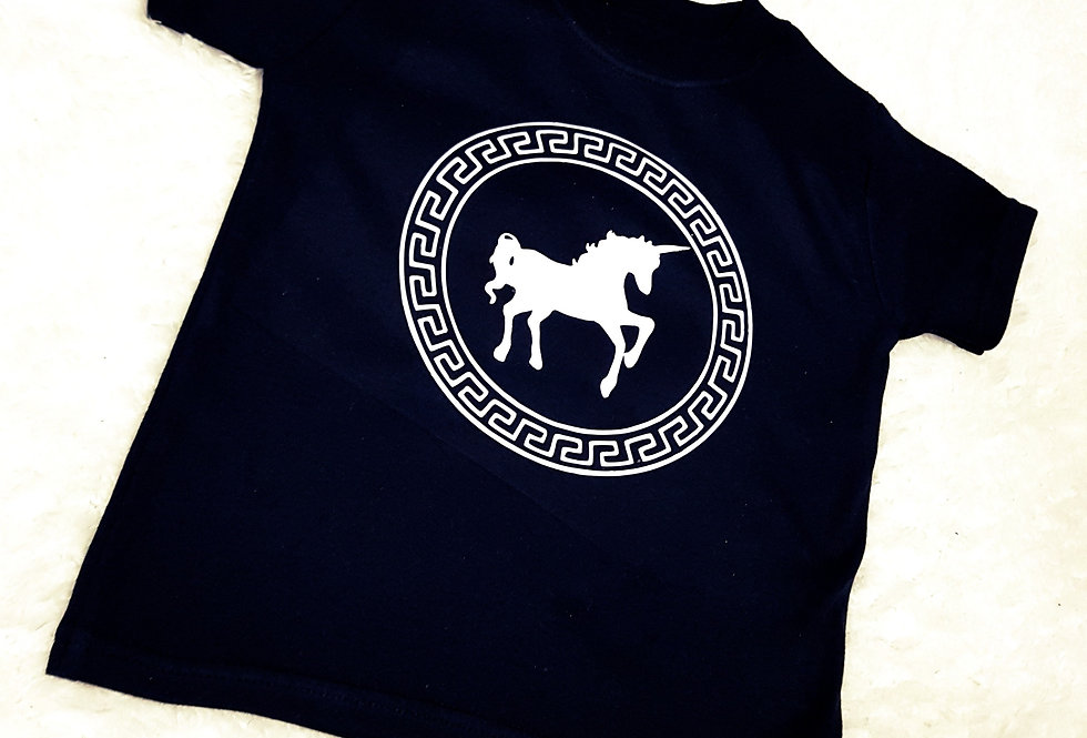 Unicorn versace tee
