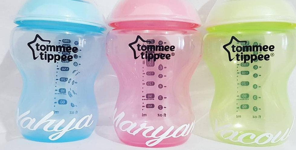 Personalised Tommee Tippee bottle