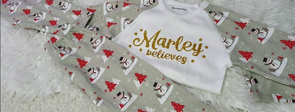Believe Christmas Pjs