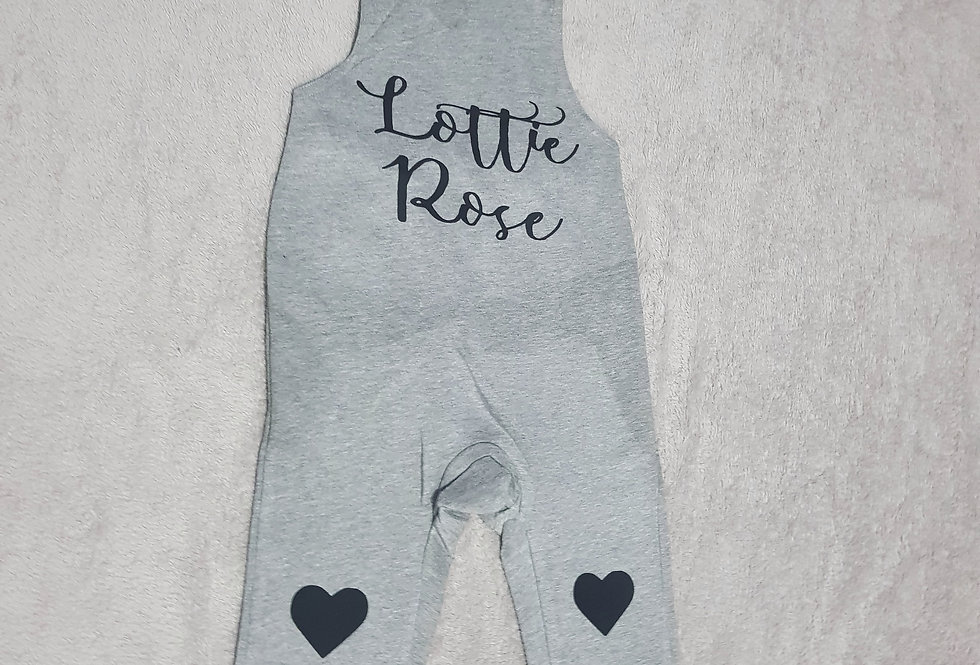 Personalised Romper (Girls Mixed designs)