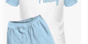 Contrast Shorts Set